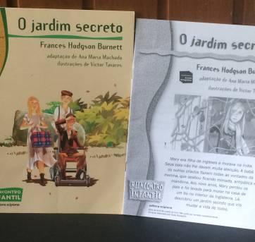 LIVRO- O Jardim Secreto - Sem faixa etaria - Editora Scipione