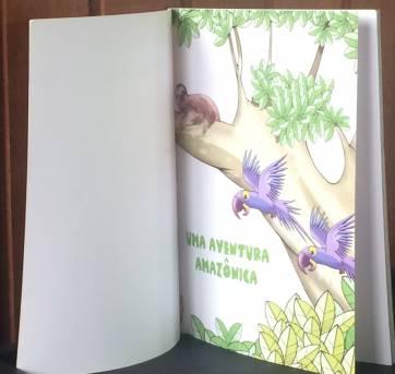 LIVRO- UMA AVENTURA AMAZÔNICA - Sem faixa etaria - Editora Moderna