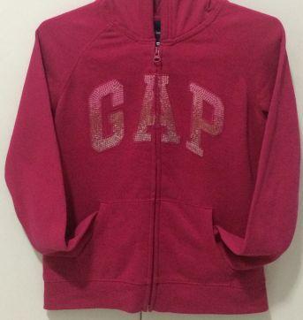 Casaco Rosa Pink com Capuz - 12 anos - GAP