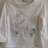 Camiseta Lhama - 1 ano - Mon Sucré