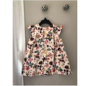 Vestido florido Zara - 12 a 18 meses - Zara Baby e Zara