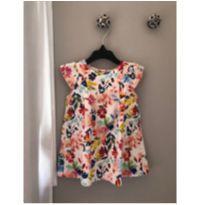 Vestido florido Zara - 9 a 12 meses - Zara Baby e Zara