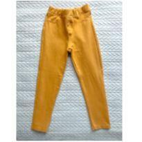 Legging mostarda - 18 a 24 meses - Riachuelo