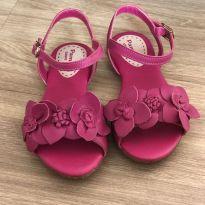 Sandália rosa - 23 - Pampili