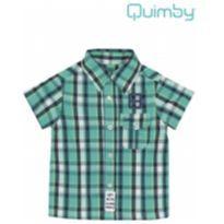 Camisa xadrez verde - 2 anos - 3 anos - Quimby