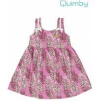 Vestido Havaí Rosa - 3 anos - 3 anos - Quimby
