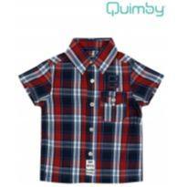 Camisa xadrez vermelha - 1 ano - 1 ano - Quimby