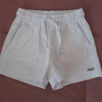 Shorts branco - 5 anos - Camú Camú