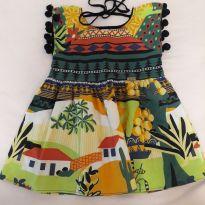 Vestido Camu Camu pompom