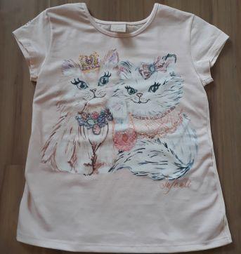 Blusa Infanti gatinhos - 5 anos - Infanti