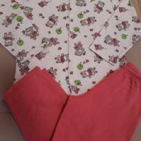 Pijama flanelado ursinhos - 4 anos - Chacabru