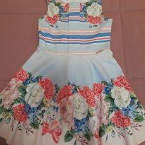 Vestido Kukiê flores - 5 anos - Le Petit Kukiê