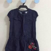 Vestido jeans DKNY - 18 meses - DKNY