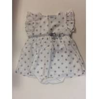 Vestido com body - 3 meses - Baby fashion