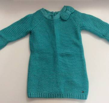 Vestido de tricot Tommy Hilfiger - 1 ano - Tommy Hilfiger