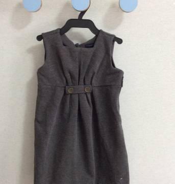 Vestido cinza Tommy Hilfiger - 2 anos - Tommy Hilfiger