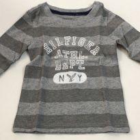 Camiseta manga comprida Tommy Hilfiger - 3 a 6 meses - Tommy Hilfiger