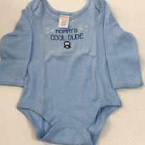 Body azul Gymboree - 3 a 6 meses - Gymboree
