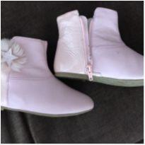Bota Bibi rosa claro com pelinhos - 27 - Bibi