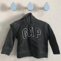 Moletom Gap cinza - 12 a 18 meses - GAP