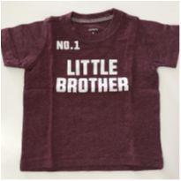 Camiseta manga curta Carters - 9 meses - Carter`s