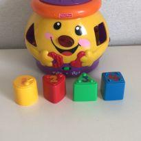Pote de cookies Fisher and Price