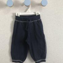 Calça de moletom Gymboree azul - 12 a 18 meses - Gymboree