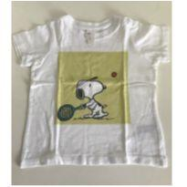 Camiseta Snoopy - 6 a 9 meses - H&M