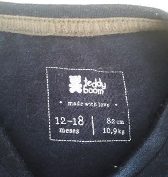 Camisa dino - 12 a 18 meses - Teddy Boom