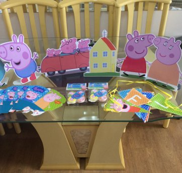 Mini kit festa - Peppa Pig!!