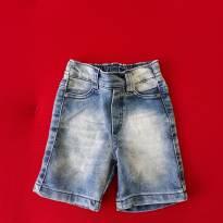 Bermuda jeans M - 3 a 6 meses - Não informada