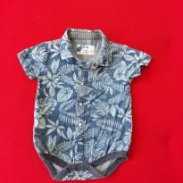 Body/camisa tropical muito fofo Isabela Capeto P - 0 a 3 meses - C&A