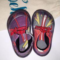 Sapato biomimético Noeh Tatu Bolinha Ameixa 18/19 - 18 - Noeh