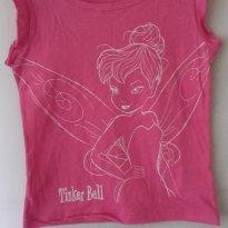 BL6F32 - Blusa 6 anos Tinker Bell - 6 anos - Não informada