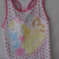 BL6F36 - Blusa 6 anos Disney princess - 6 anos - Disney