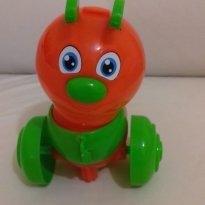 Lagartinha Papa folhas - Sem faixa etaria - Baby BS Toys