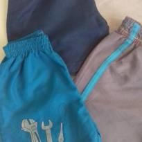 4 shorts para ficar em casa - 9 a 12 meses - Não informada