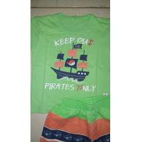 Conjunto Pirata - 3 anos - Kiko