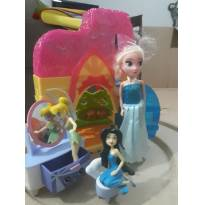 Boneca Elsa  -  - Hasbro e Mattel