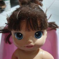 Boneca linda fralda mágica, baby alive -  - Baby Alive