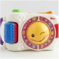 Máquina fotográfica fisher price - musical - funcionando perfeitamente -  - Fisher Price