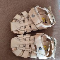 sapatinho TIgor de couro tamanho n. 20 - 20 - Tigor Baby