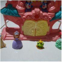 Castelo lindo musical com princesas -  - Disney
