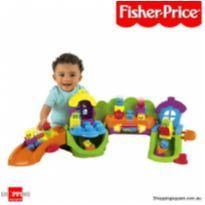 Vila de blocos da fisher price