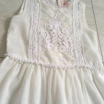Vestido branco - 6 anos - Sem marca