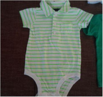 Lotinho masculino (P/M) - 3 a 6 meses - Tigor T.  Tigre e Carter`s