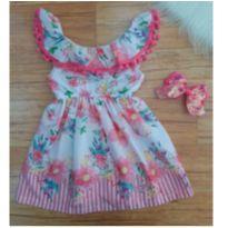 Vestido Mon Sucré com pompom - 8 anos - Mon Sucré