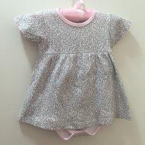 Conjunto Baby Fashion - 6 a 9 meses - Baby fashion