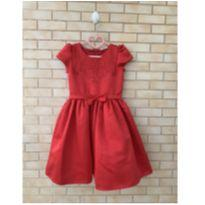 Vestido Vermelho Petit Cherie - 6 anos - Petit Cherie
