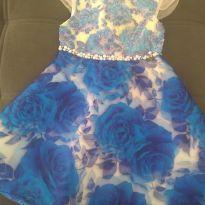 Vestido de festa luxo - 4 anos - Ninali